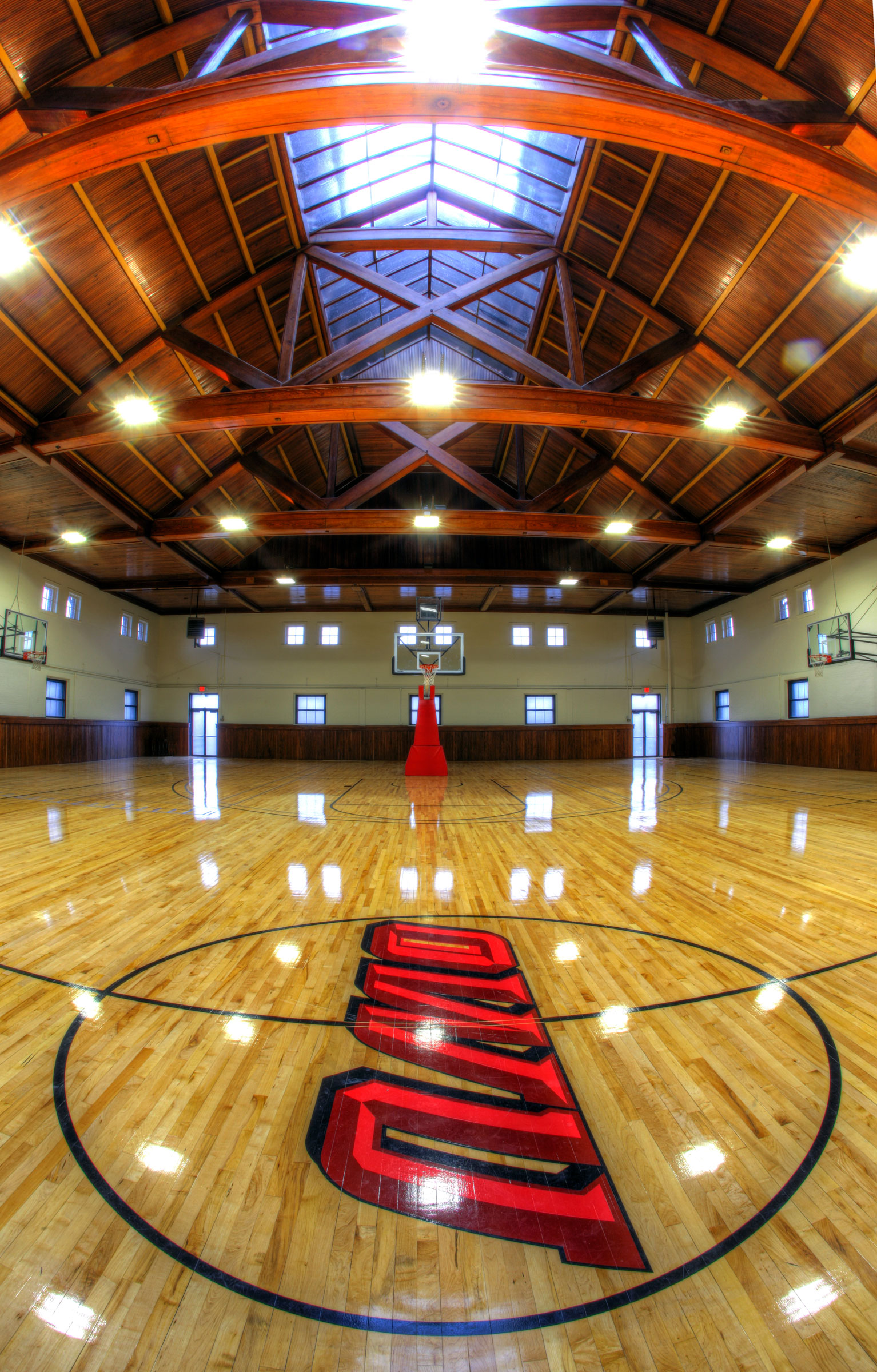 Edwards Gymnasium Basketball Court Renovation – 2013 2014