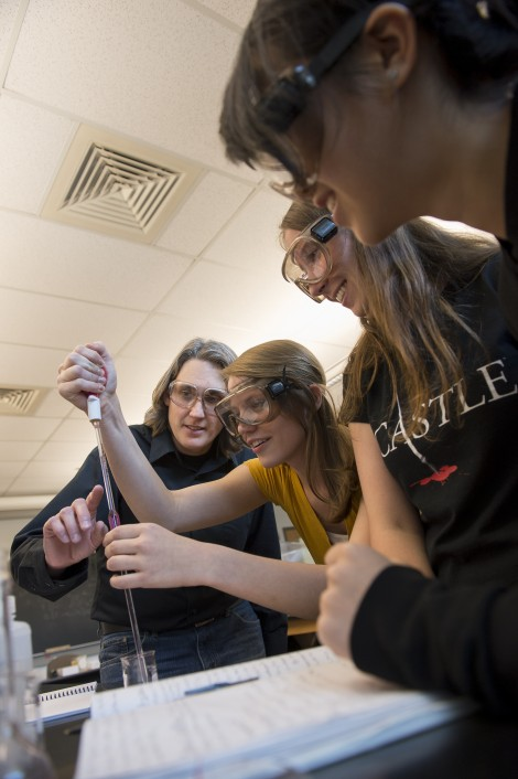 Ohio Wesleyan is receiving a $2 million estate gift to support the chemistry faculty. Department Chair Heather Grunkemeyer calls the gift u0027a great reminder ...  sc 1 st  Ohio Wesleyan University & Ohio Wesleyan Receives $2 Million Commitment To Support Chemistry ...