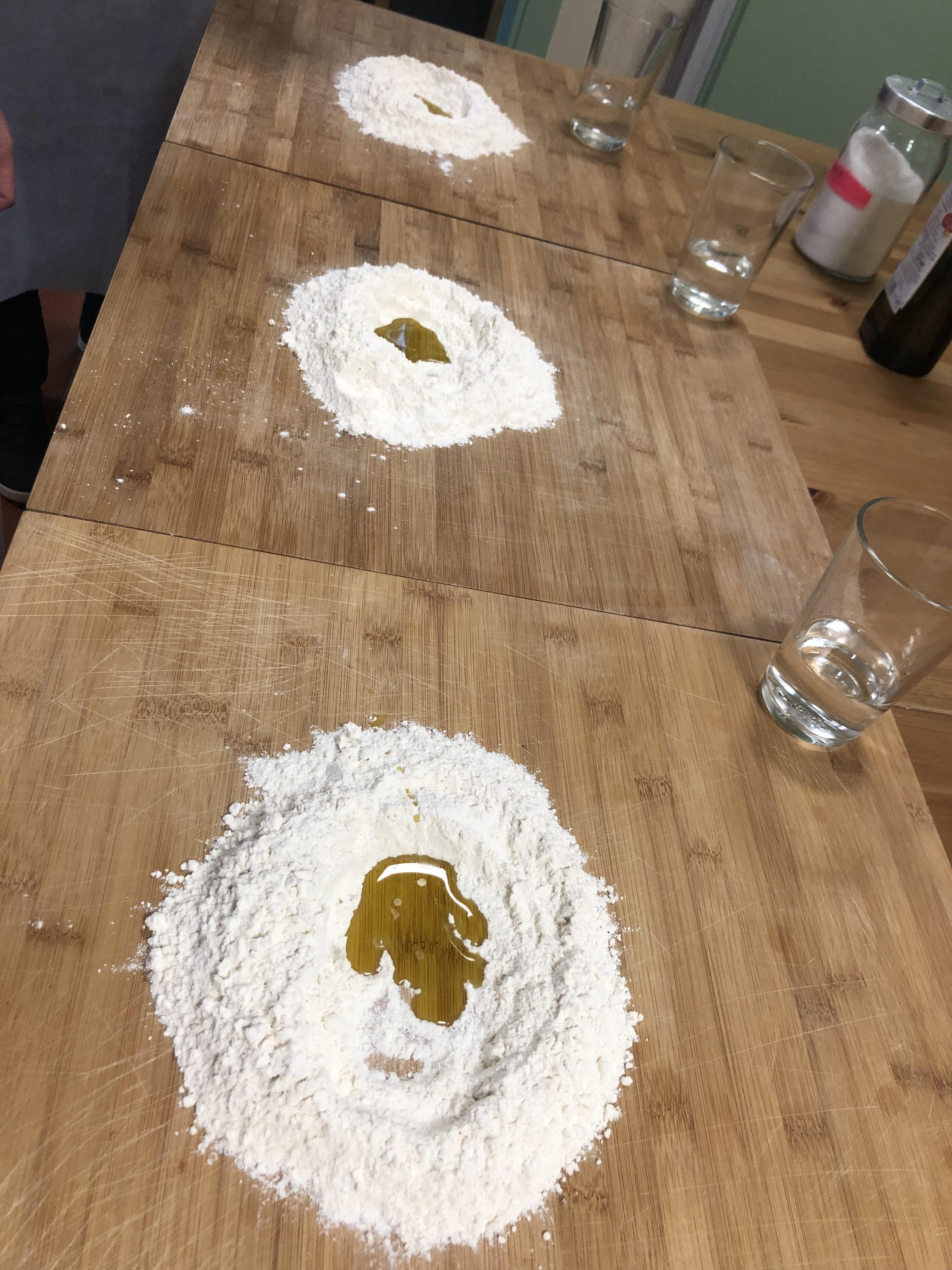 """Making homemade """"pici"""" pasta with Christian Palazzi"""