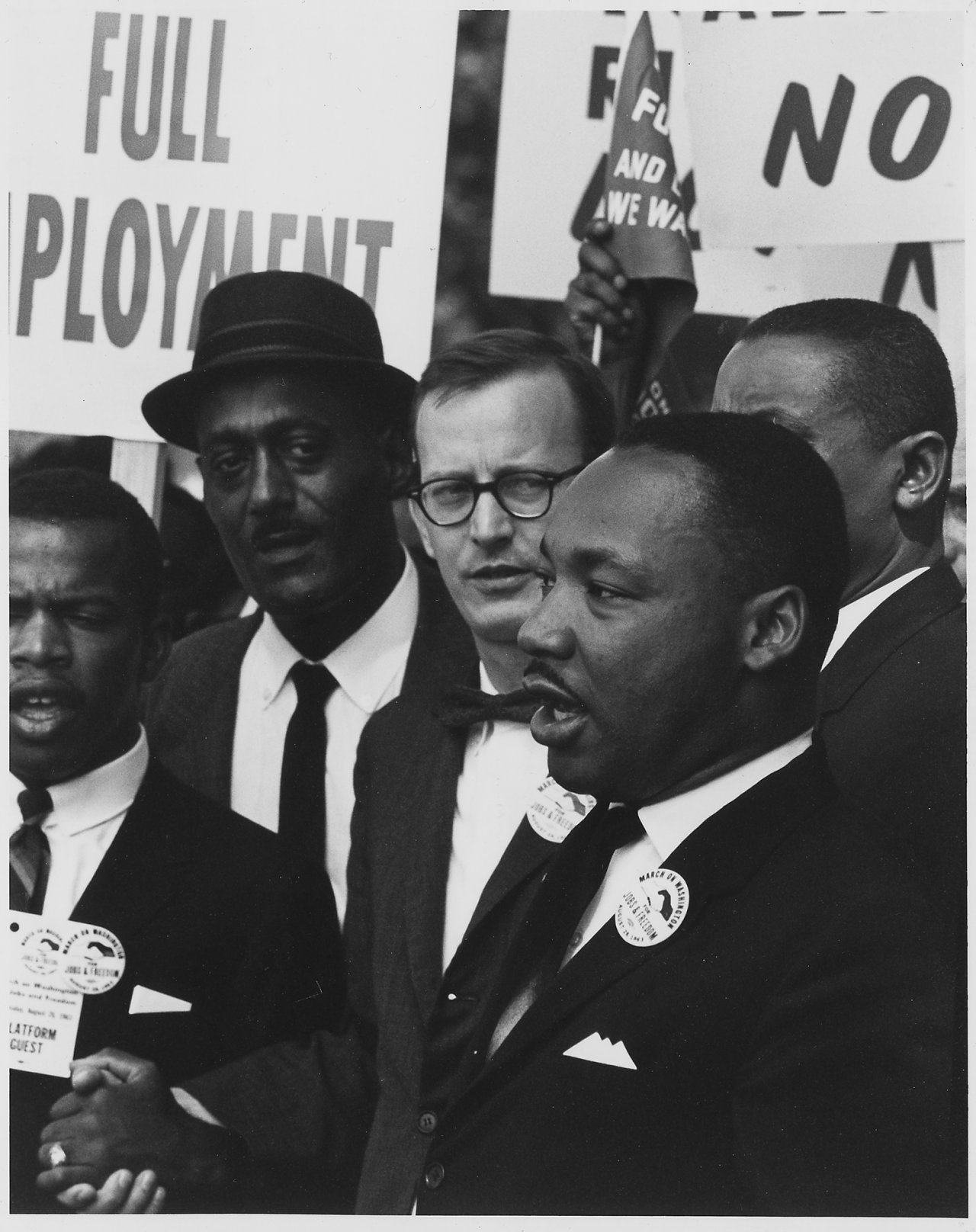 Martin Luther King Jr. at 1963 March on Washington