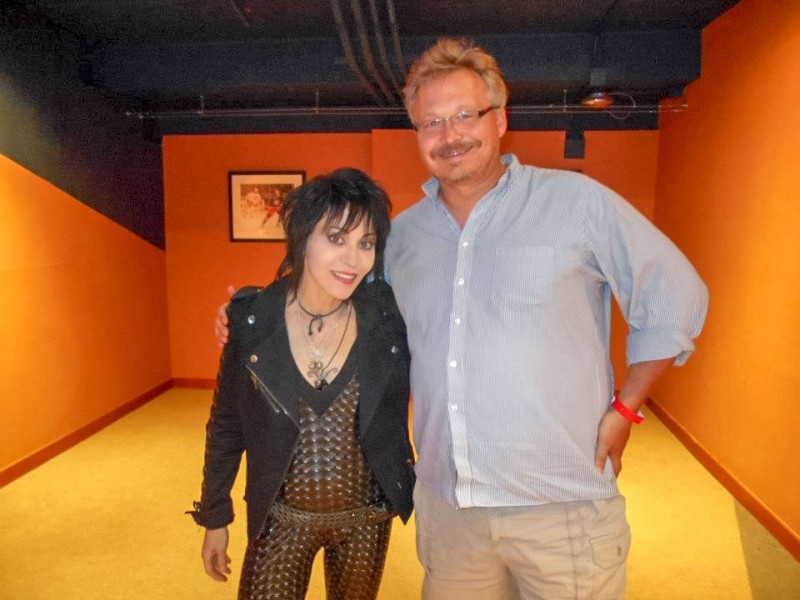 Joan Jett and Sean Kay