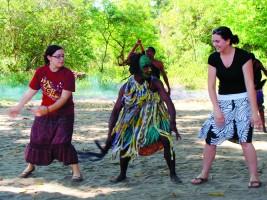 Dancing in Tanzania