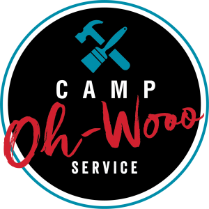 Camp Oh-Wooo Service logo