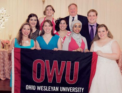 Ohio wesleyan wedding